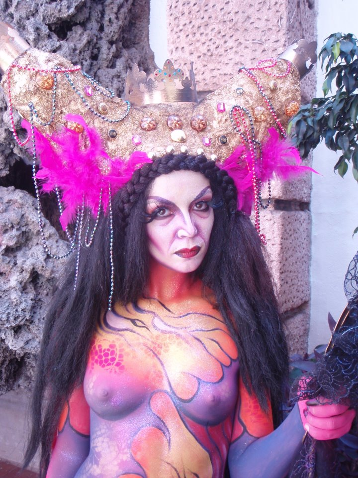 BODY PAINT LOS CABOS 2