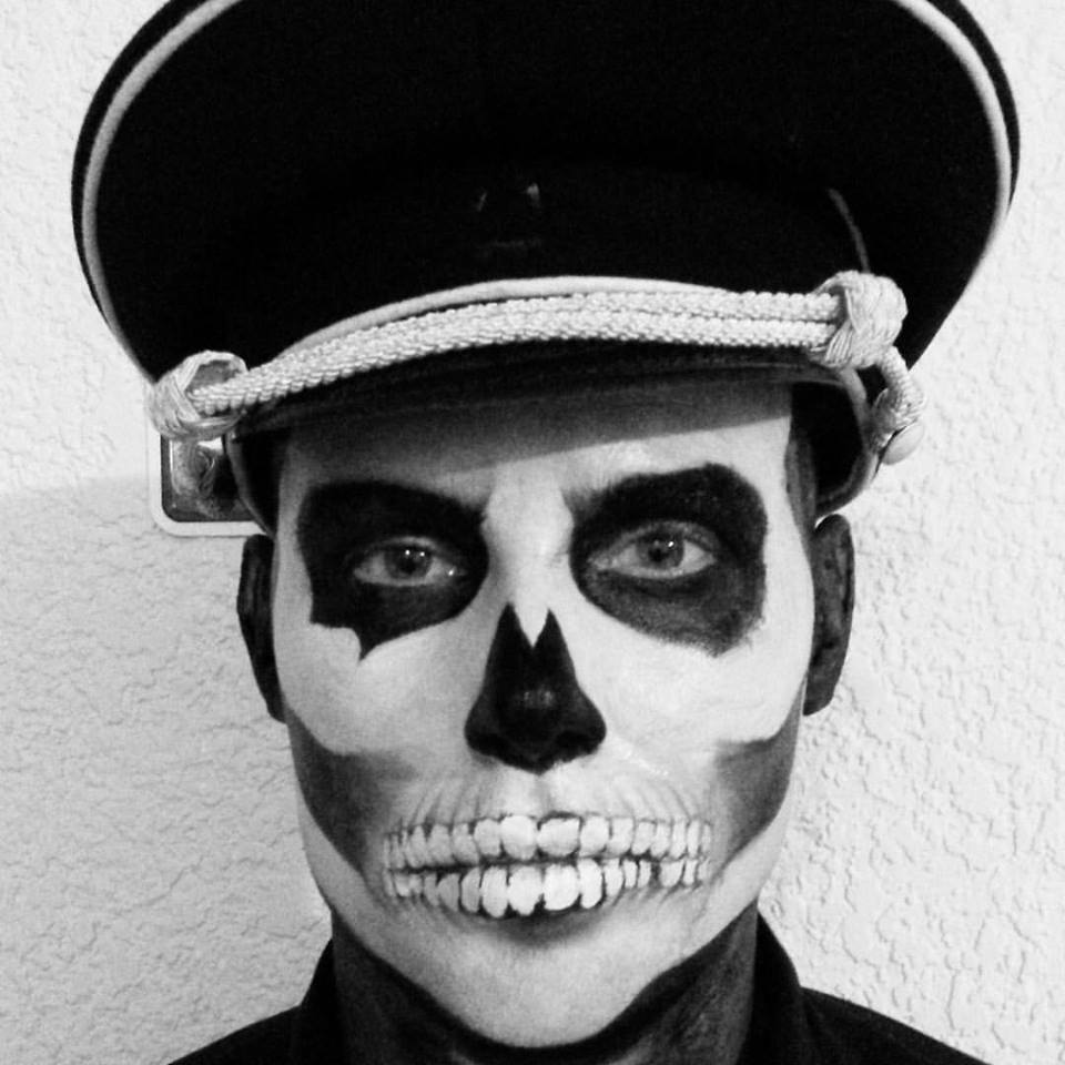 SKULL MAKE UP LOS CABOS